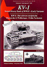 TANKOGRAD #2002 KV-1 SOVIET HEAVY TANK OF WWII VOL 1 EARLY VARIANTS