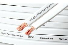 79 Strand OFC piatto 10mm x 1.7mm Altoparlante Cavo Filo 30m Pure conduttori di rame