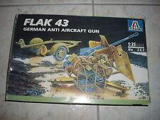 ITALERI  FLAK 43 GERMAN ANTI AIRCRAFT GUN