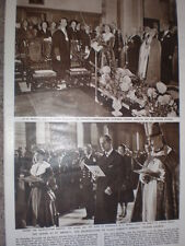 Photo article Queen Elizabeth II and rededication St Bride's Church London 1957