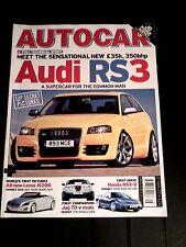 AUTOCAR MAGAZINE 20-APR-04 - SEAT Ibiza FR, BMW 530d E60, Jaguar S-Type 2.7D