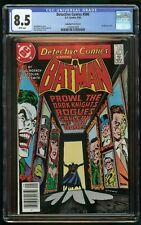 DETECTIVE COMICS #566 (1986) CGC 8.5 CANADIAN PRICE VARIANT CPV WHITE PAGES