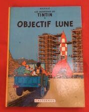 Tintin Lente Lune 16B42 Casterman 1975 Herge Condición Bd Banda Comic