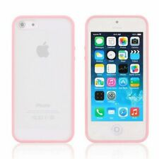 iPhone 6S Plus, 6 Plus case Bumper Case Cover Protective Frosted Clear Hard PINK