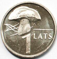Latvia 1 lat 2004 Mushroom UNC (#1315)