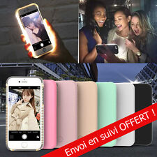 Coque LED à selfie anti-choc lumineuse iPhone/Samsung 5s - 6S PLUS S6 - S7 edge