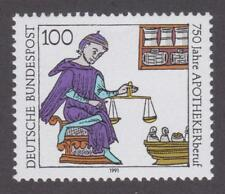 Germany 1991  #1620 Pharmacy Profession, 750th Anniversary- MNH