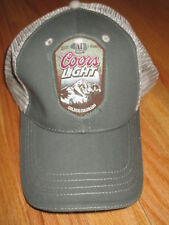COORS LIGHT Established 1978 GOLDEN COLORADO (Adjustable) Mesh Cap