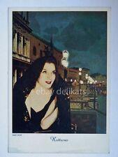 NANNI COLOR Notturno art deco artdeco vecchia cartolina