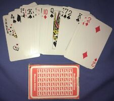 Vintage Souvenir Deck Of Western Airlines Plane Playing Cards Hardly Used Deck