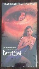 Terrified Vhs (Arv 1945, Alliance, 1996) Rare New 6340