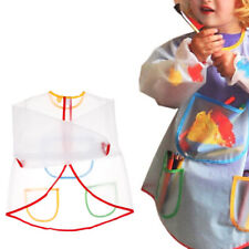 Kindergarten Painting Clothes Children Waterproof Gowns Baby Anti-dressing Uk