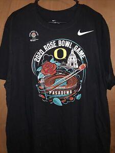 Nike Oregon Ducks 2020 Rose Bowl Game Pasadena XL T Shirt