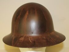 Vintage Msa Skullguard Hard Hat Full Brim Lineman Workman Logger Helment