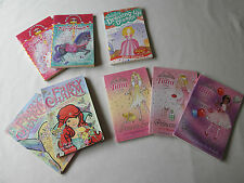 collection of 8 lovely various girls fiction books