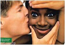 Publicité Advertising 1991 (2 pages) United Colors of Benetton