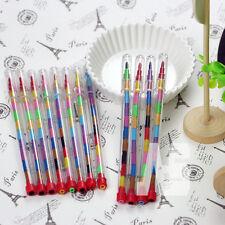 24 Children Kids Swap Swop Point Crayons Stacker Pencils Party Loot Bag Fillers