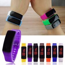 Womens Ladies Mens Kids Digital LED Waterproof Sports Wrist Watches SALE ON