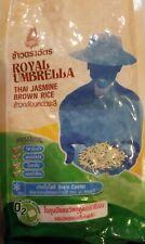 Jasmine Thai Brown Rice 4.4 lb (Free Shipping) Royal.Umbrella Brand-high quality