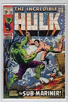 Incredible Hulk Issue #118 Marvel Comics (Aug. 1969) FN