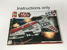 ONLY instructions only book 1 Lego 8039 Venator-Class Republic Attack Cruiser