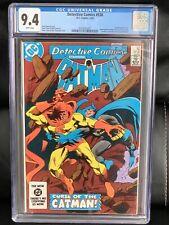 Batman Detective Comics #538 CGC 9.4 (DC 1984) Catman App, Green Arrow Story NM