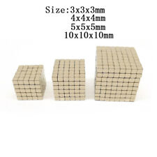 Strong Craft Magnets 3mm 4mm 5mm 10mm Cube Neodymium Rare Earth Block Magnetic