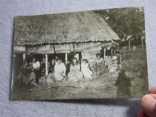 AK SAMOA EINGEBORENE IN APIA  CA 1900 Deutsche Kolonien gutes Foto der Zeit