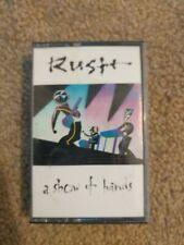 RUSH A SHOW OF HANDS CASSETTE 1989