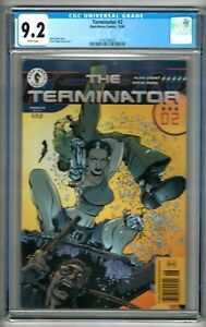 Terminator #2 (1998) CGC 9.2 White Pages  Alan Grant - Steve Pugh