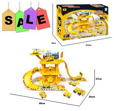 Kids Construction Alloy Diecast Vehicle Truck Car Table Board Game Playset Toy