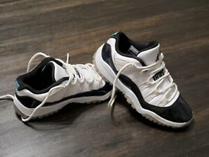 Air Jordan XI 11 Retro Iridescent  Boys Shoes Size 12 C  505835-145