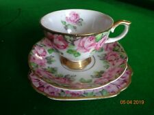 Vintage Collectable NBS Bone China Trio Set - Perfect Condition.
