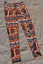 J&K Stretch Women's Aztec Cowgirl western leggings pants