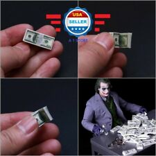 4 pcs 1/6 scale $100 US Dollars Cash Money Double Printed for 1/6 figure Joker
