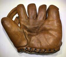 Charlie Keller 1940s Leather Marathon 4225 Fielders Glove Baseball Mitt Yankees