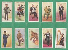 EDWARDS RINGER & BIGG  -  SCARCE SET OF 25 MUSICAL INSTRUMENTS CARDS  -  1924