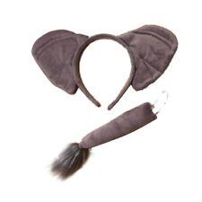 Elephant Ears Alice Hair Band Headband Tail Set Fancy Dress Party Hen Birthday