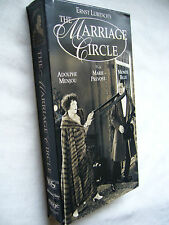 THE MARRIAGE CIRCLE ( ERNST LUBITSCH ) VHS NTSC SMALL BOX