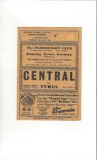 Southport v Lincoln City 1965/66 Football Programme