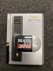 Vintage AIWA HS-T23 Stereo Radio Cassette Player FM/AM