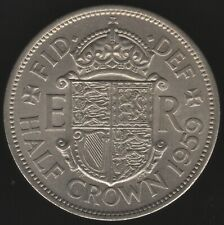 More details for 1959 elizabeth ii half crown coin key date | british coins | pennies2pounds