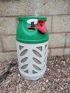 Empty patio gas Cylinder