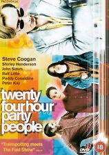 24 TWENTY FOUR HOUR PARTY PEOPLE DVD Steve Coogan Peter Kay UK NEW R2 Hr