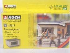 Bahnsteig Kiosk -  Noch Spur N  Lasercut Bausatz - 1:160 -  14613    #E