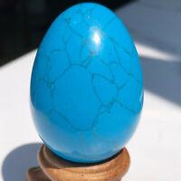 1PCS-  Melting Quartz Blue Turquoise Dragon Egg Reiki Healing Collection