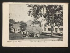 Antique POSTCARD c1911 First Store in WILTON, NH New Hampshire (20243)
