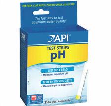 API pH TEST STRIPS 25
