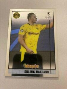 2020-21 Topps Merlin Chrome Base #65 Erling Haaland - Borussia Dortmund