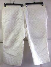 UNISSUED SNOW CAMO M-65 COLD WEATHER QUILTED ARCTIC PANTS LINER(XL REG/SHT) 1969